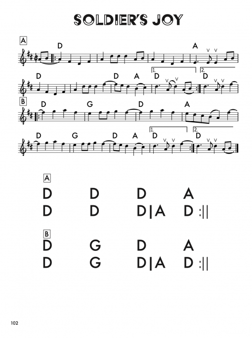 About a Hundred Fiddle Tunes 4