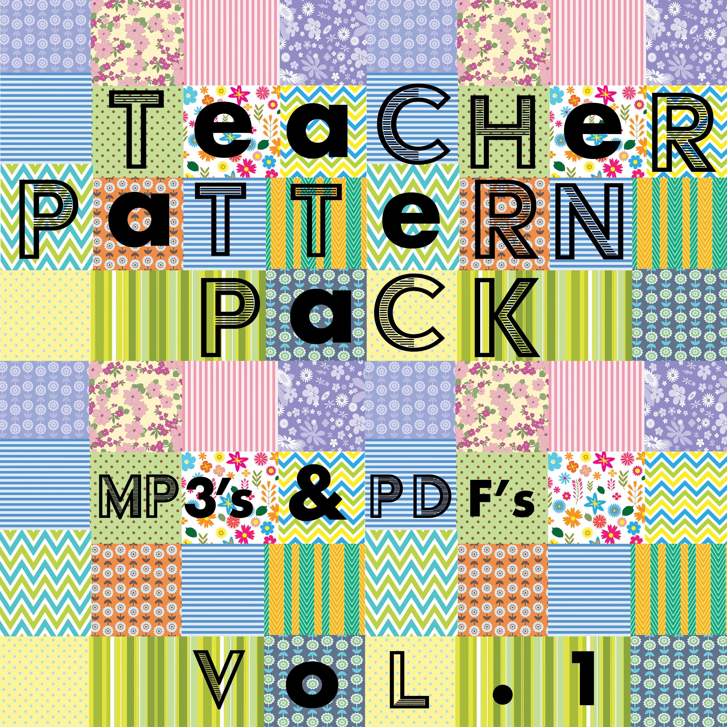 Teacher Pattern Pack