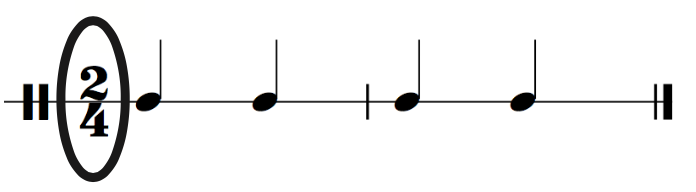 24 Time Signature - Rhythm Cells and Rhythm Patterns in 2/4